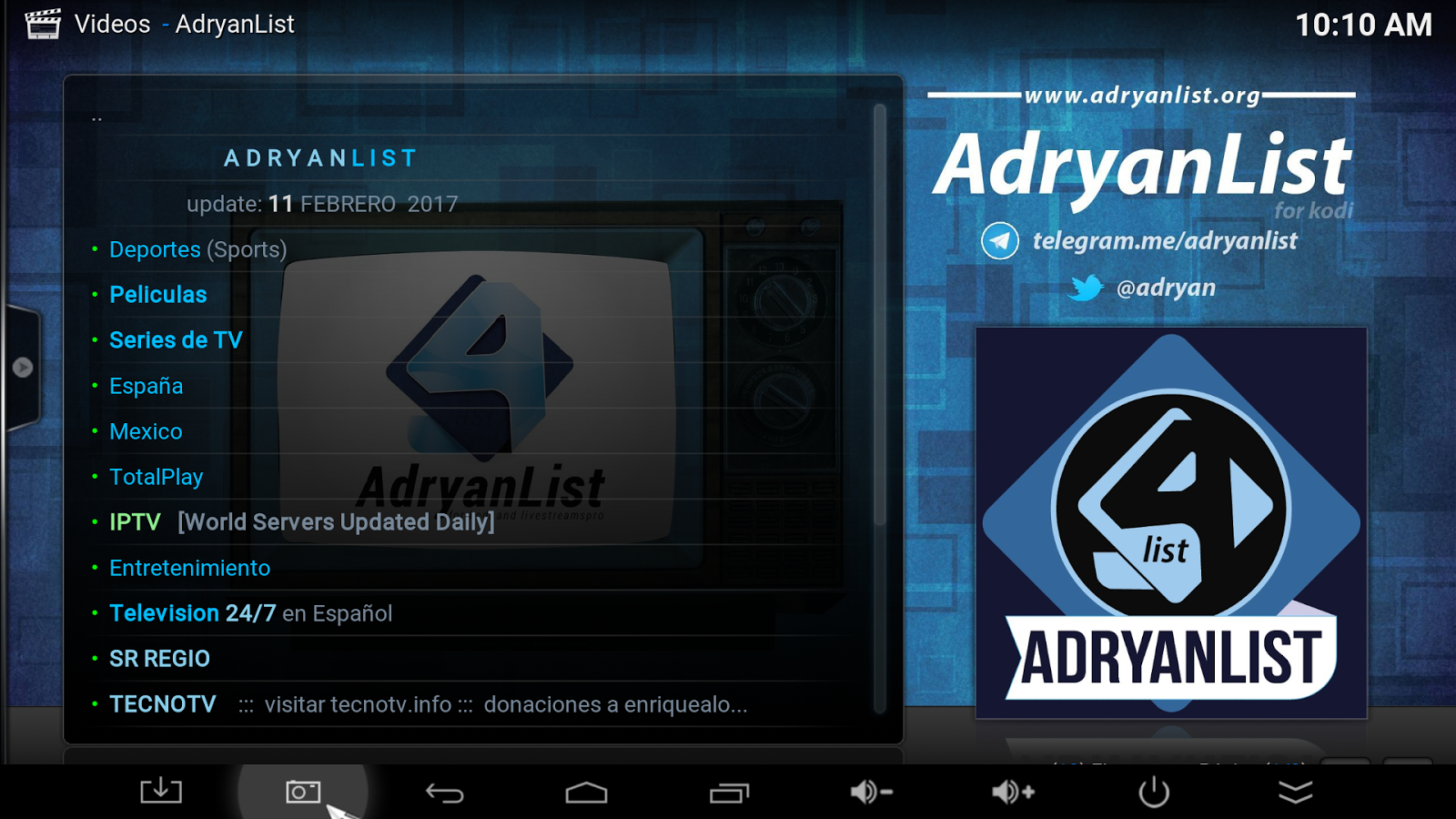 How to Install Adryanlist Kodi Addon [Download in 2019] - KodiBuddy