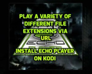 Echo Player Kodi Addon: Installation Guide