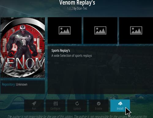 How to Install Venom Replay's Kodi Addon - KodiBuddy
